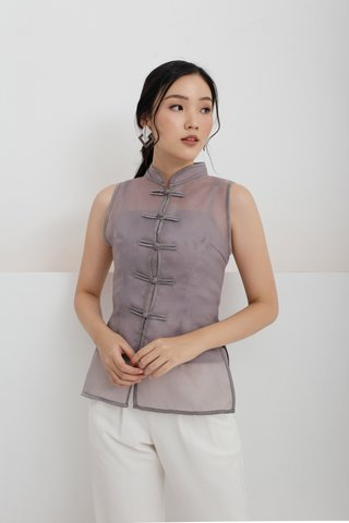 Xi Shanghai Top in Grey